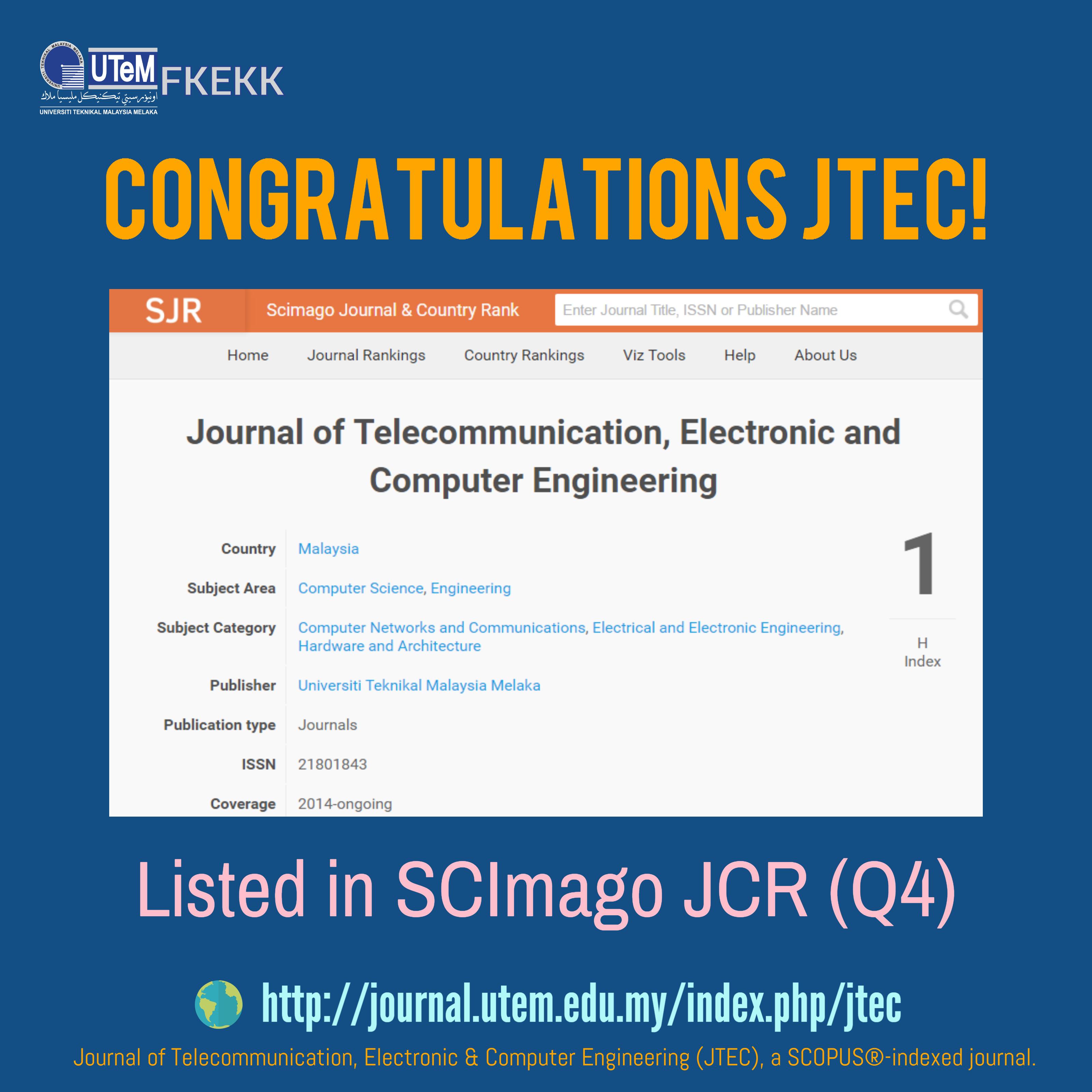 Congratulations JTEC!
